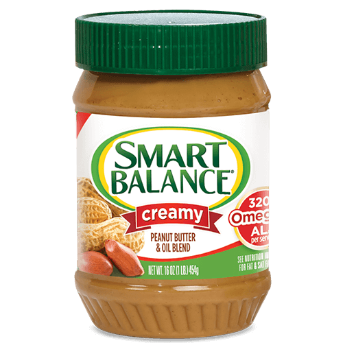 Creamy Peanut Butter with Flaxseed Oil | Smart Balance®